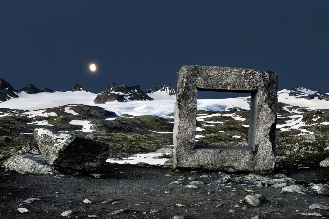 """Photo part of the """"Architecture and Landscape in Norway"""" project"""